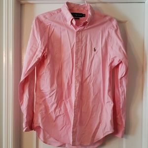 EUC Ralph Lauren button down shirt